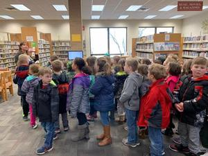 Goshen Library Field Trip- Mrs. Naylor and Miss Titcomb!
