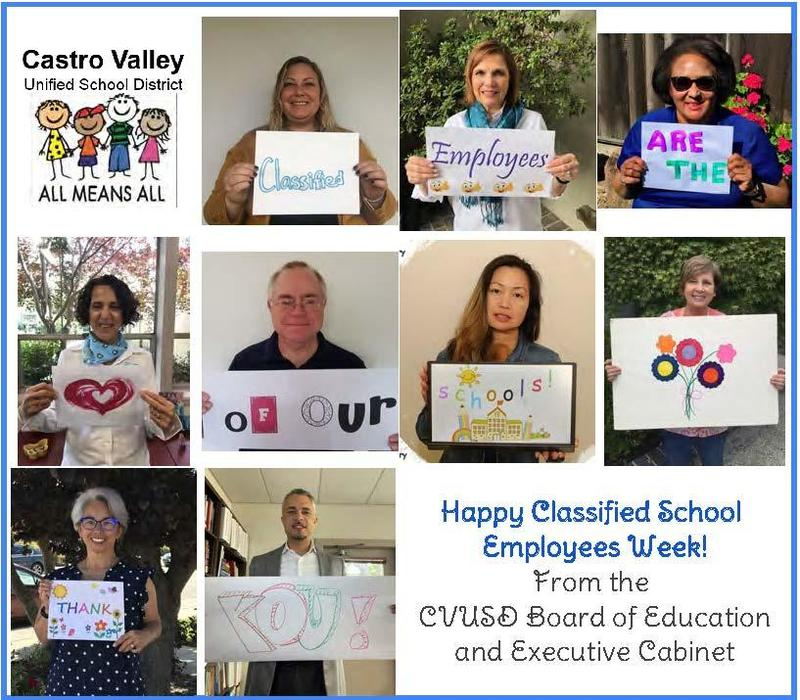 Classified Employees Week!