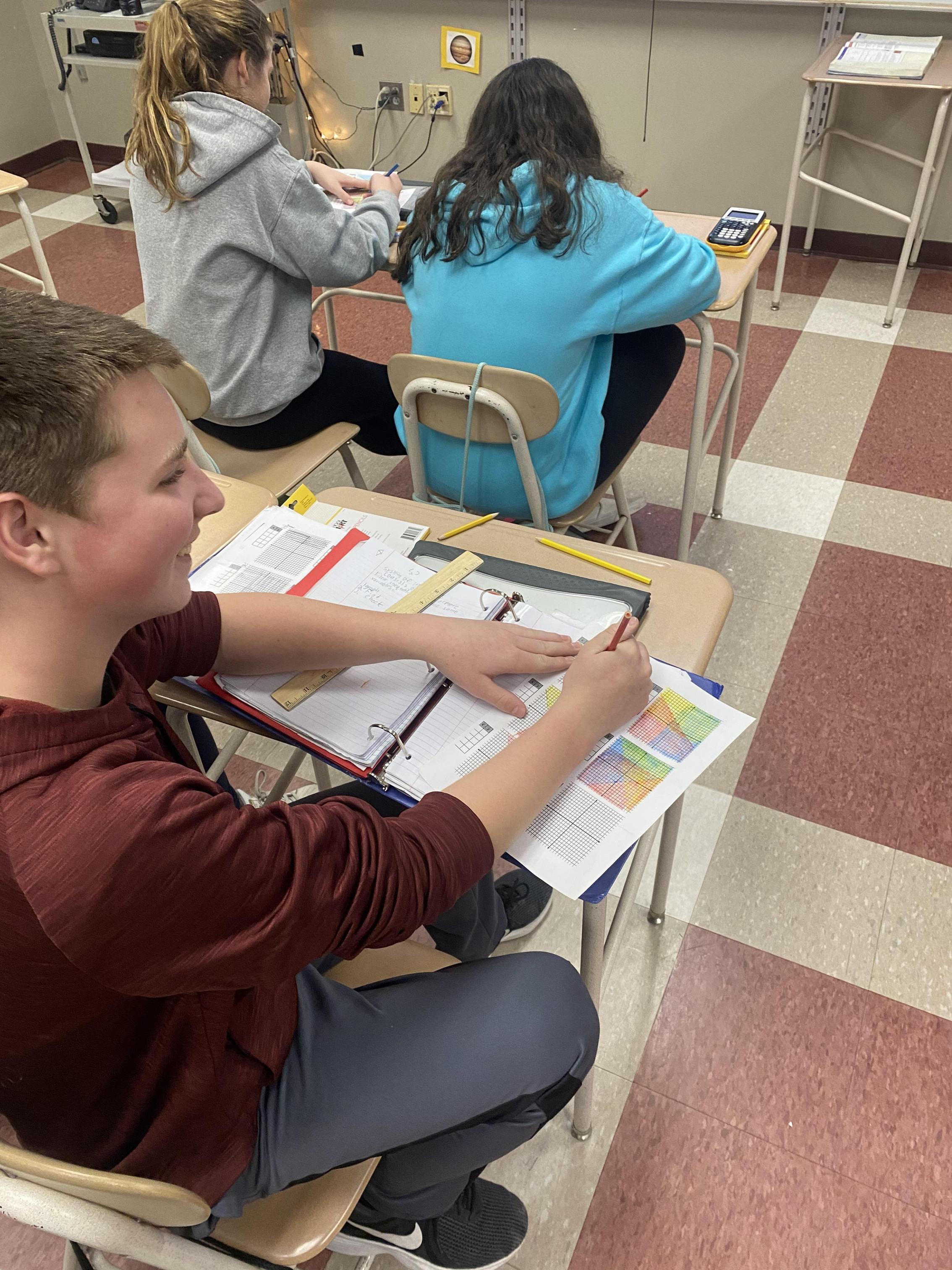 Students in Algebra