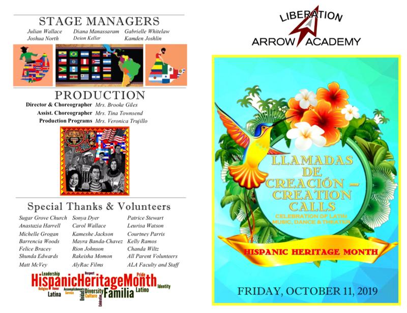 Creation Calls - Hispanic Heritage Month Program Featured Photo