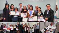 November 7, 2019 Garvey Council PTA Reflections Awards -
