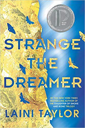 Book cover for Strange the Dreamer