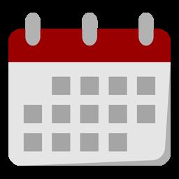 a clip art image of a calendar