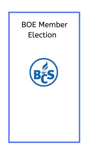 BOE Member Election