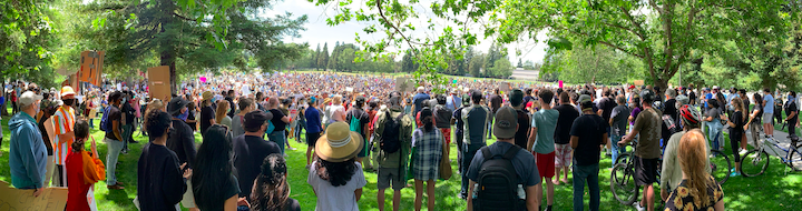 Photo of June 5 Demonstration