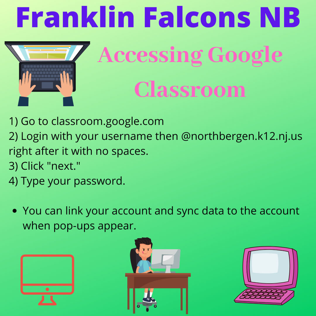 Google Classroom Instructions