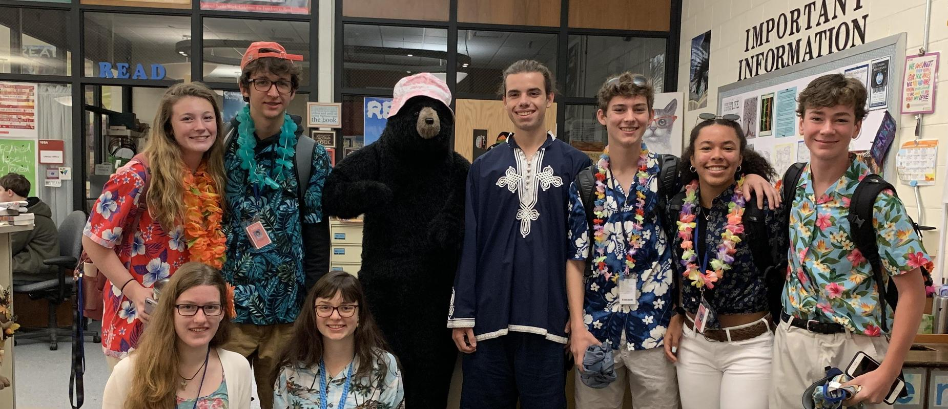 Spirit Day in High School