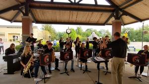 TKHS Jazz Band performed