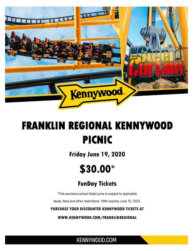 Kennywood in school sale date poster
