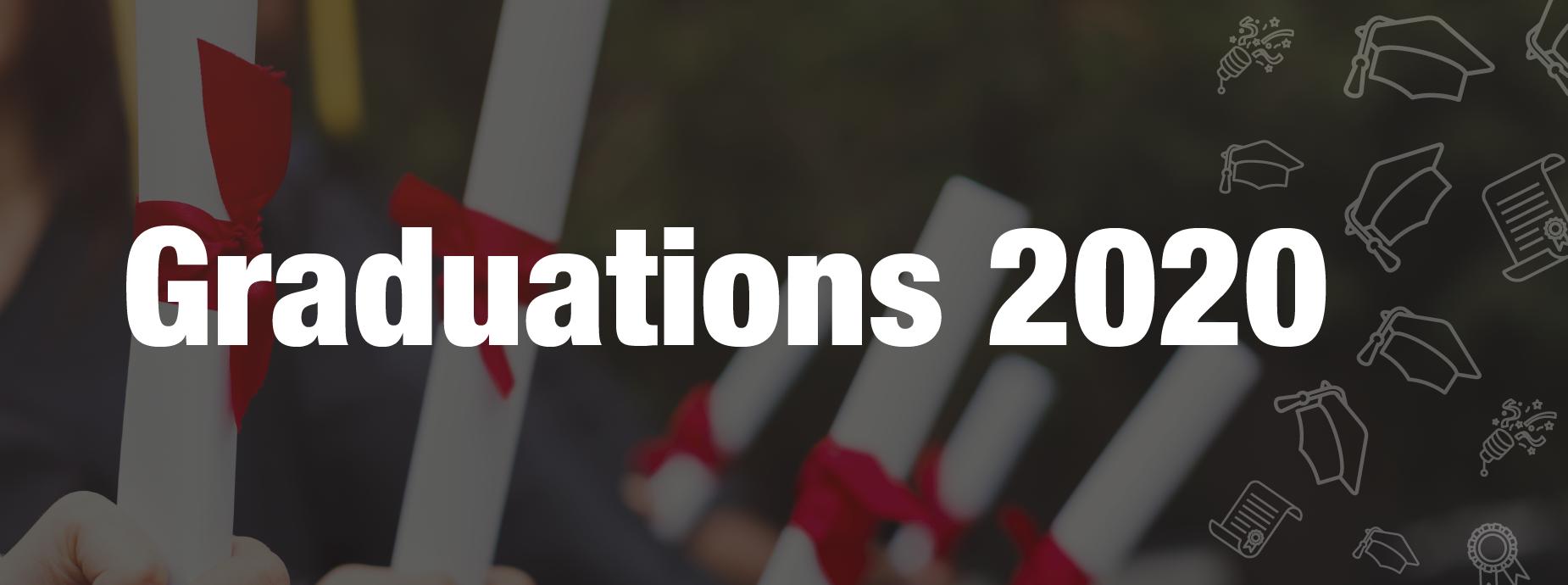 Graduations 2020 Banner