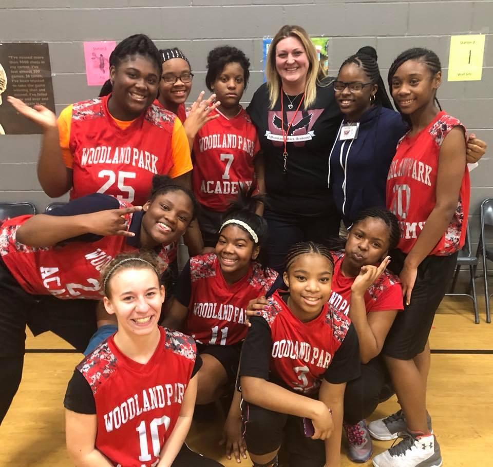 2018 Lade Eagles Basketball Team