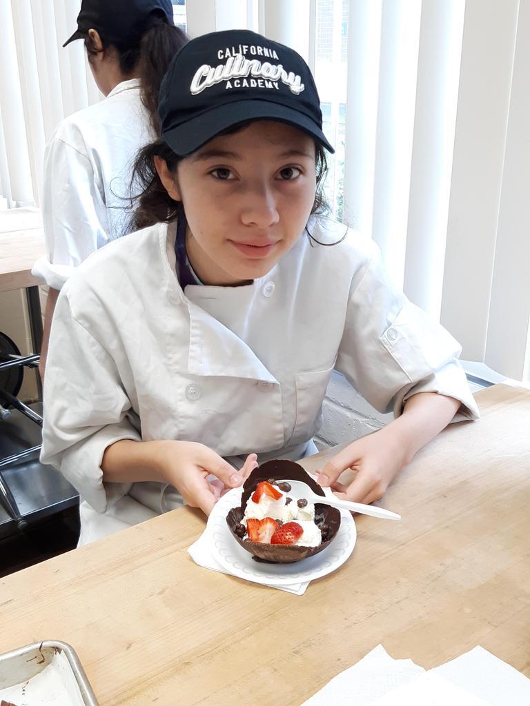 Chocolate bowls with Ice Cream 2019-2020