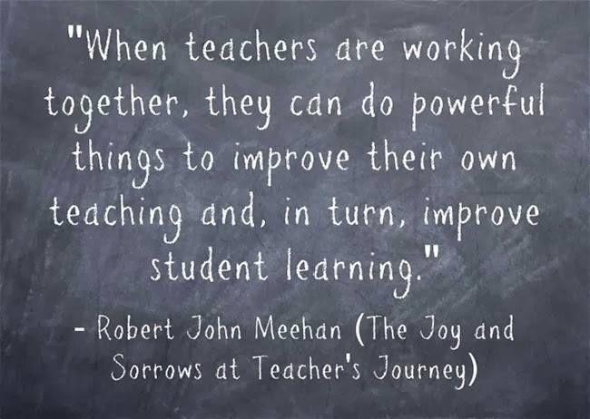 Teachers work together