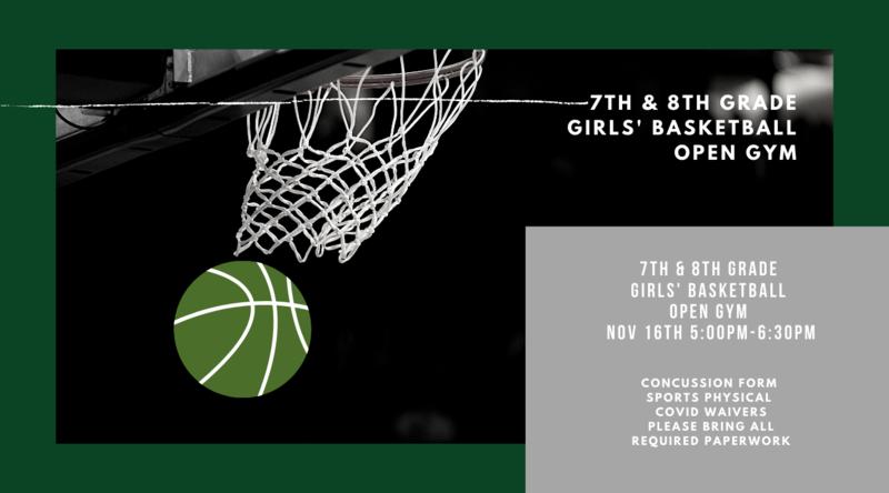 7th & 8th Grade Girls' Basketball Open Gym Thumbnail Image