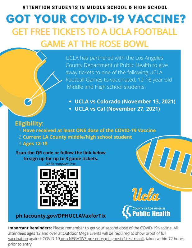 Free Tickets to a UCLA Football Game at the Rose Bowl Featured Photo