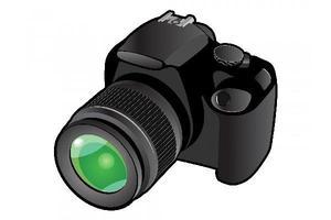 Professional Photographer's Camera