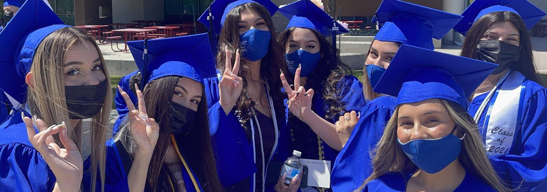 Group of 2021 Graduation Students