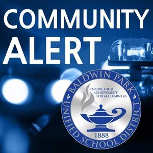 Community Alert Regarding District Messaging