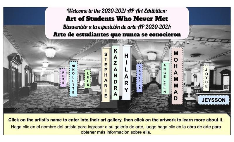 Ms. Hoffman's 2020-2021 AP Art Exhibition Featured Photo