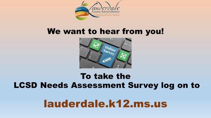 LCSD Needs Assessment Survey Graphic