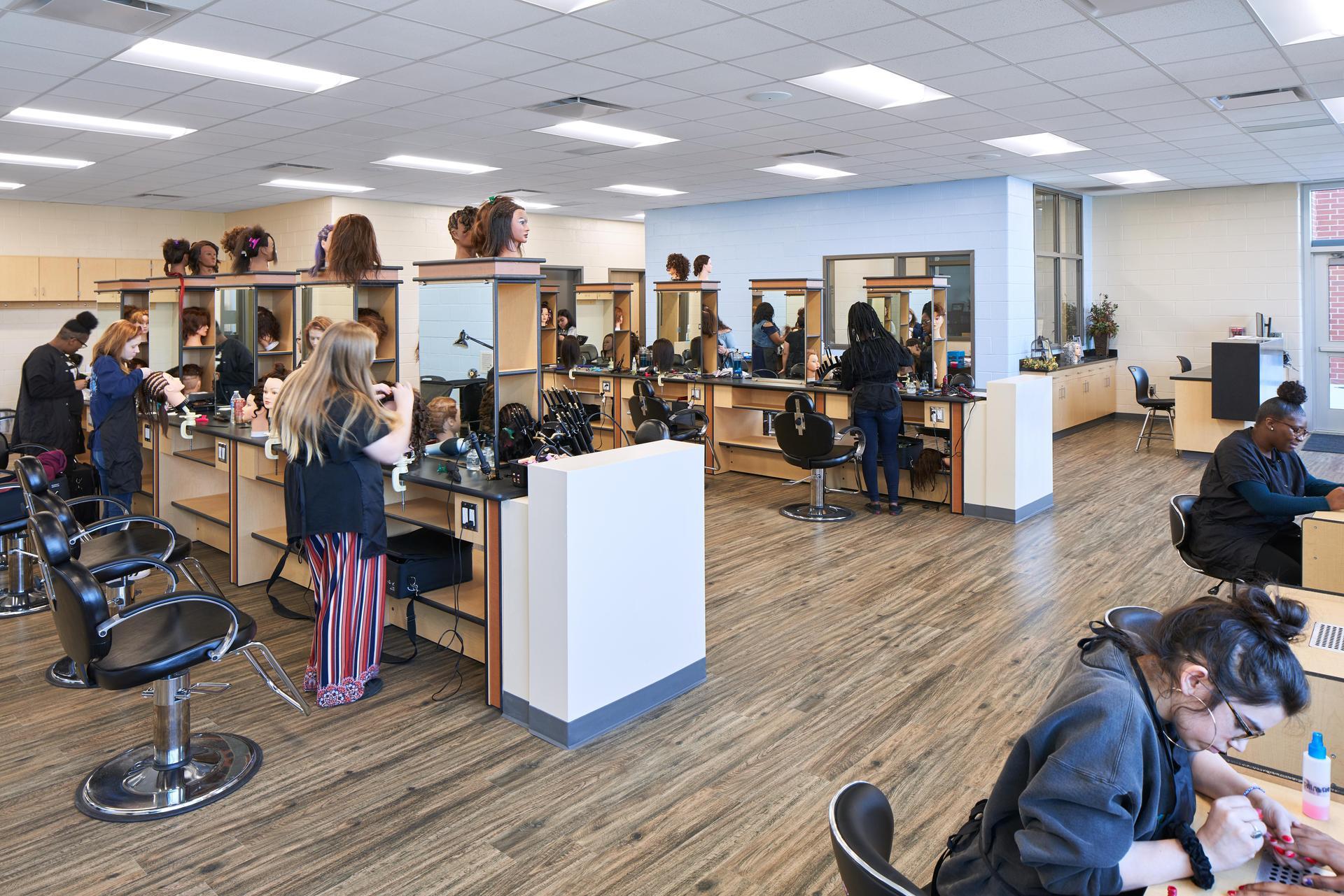 Lexington 2 Innovation Center Cosmetology Class