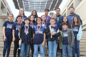 Pictured is the 2018 Texas Math and Science Coaches Association State Champions- Mission Jr. High School Science team.
