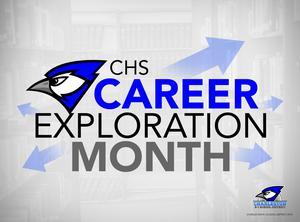 CHS Career Exploration Month logo