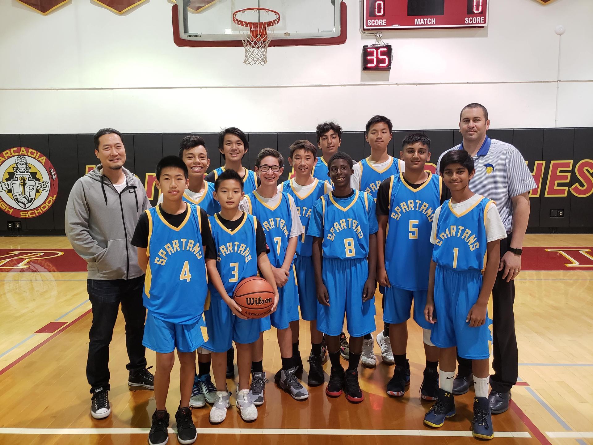 Varsity Boys BB 2018-19