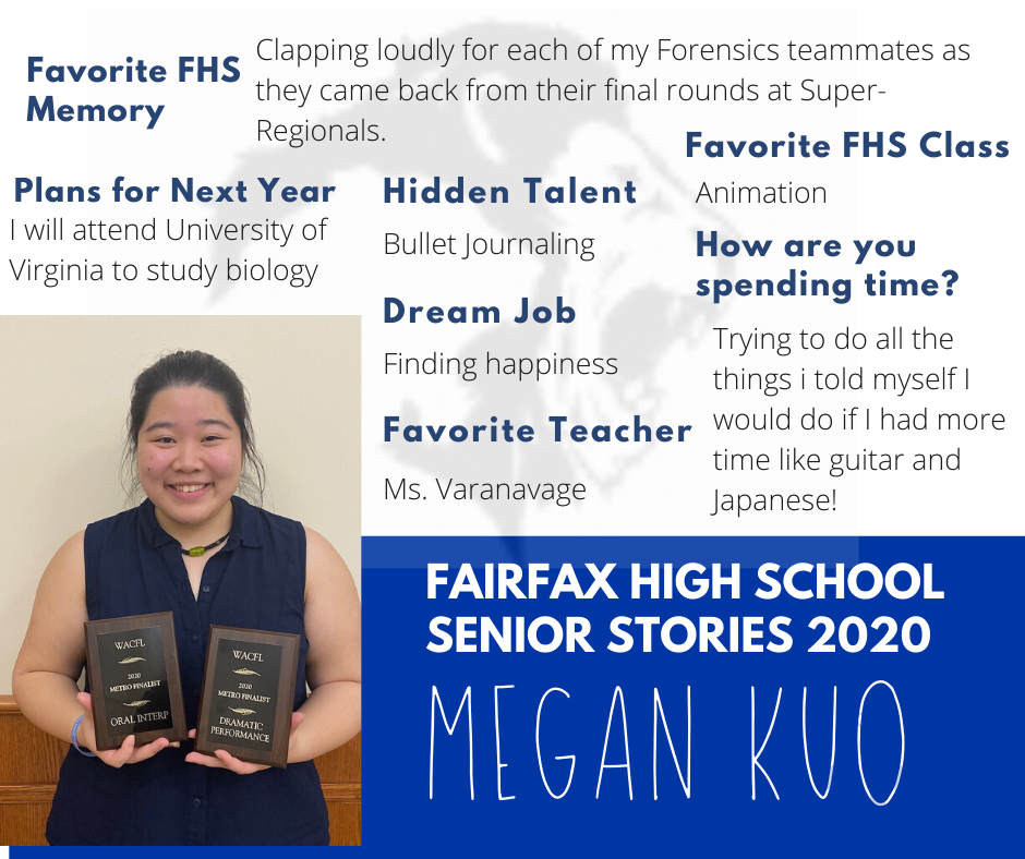 Megan Kuo post and list of activities