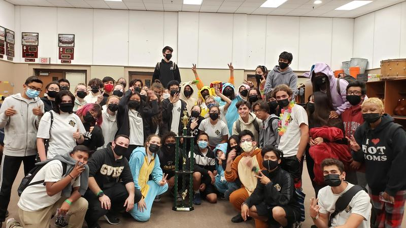 GVHS Band and Color Guard Win First Ever Sweepstakes Featured Photo