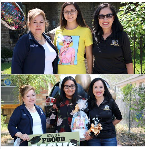 Mission CISD Administration and Staff Congratulate Valedictorian and Salutatorian! Featured Photo