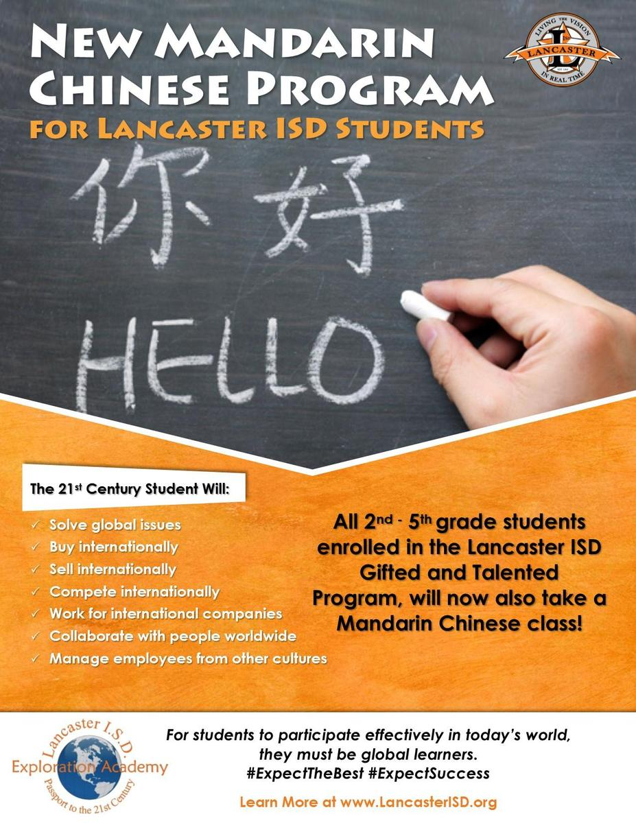 Students Learn Mandarin Chinese