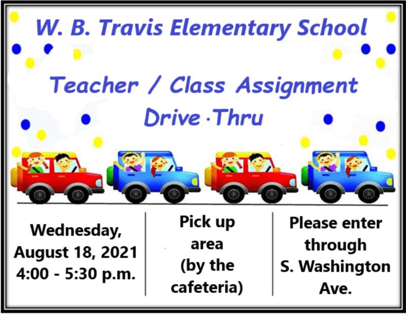 Teacher & Class Assignment Drive-Thru Featured Photo