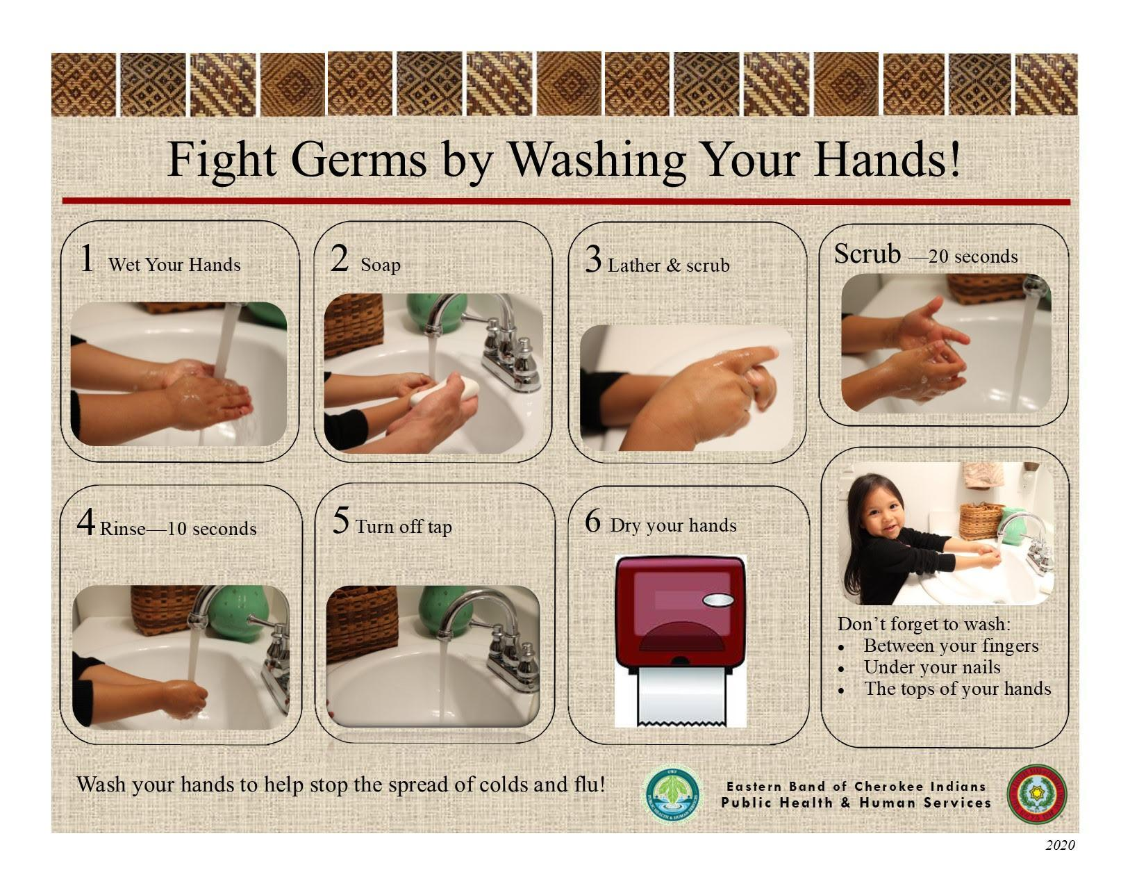 Fighting Germs Flyer