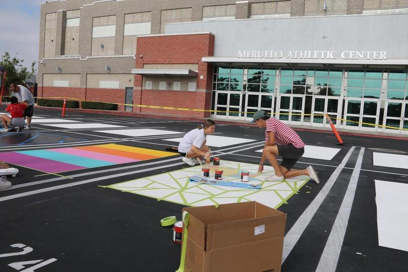 Senior Painting Parking Spots Featured Photo
