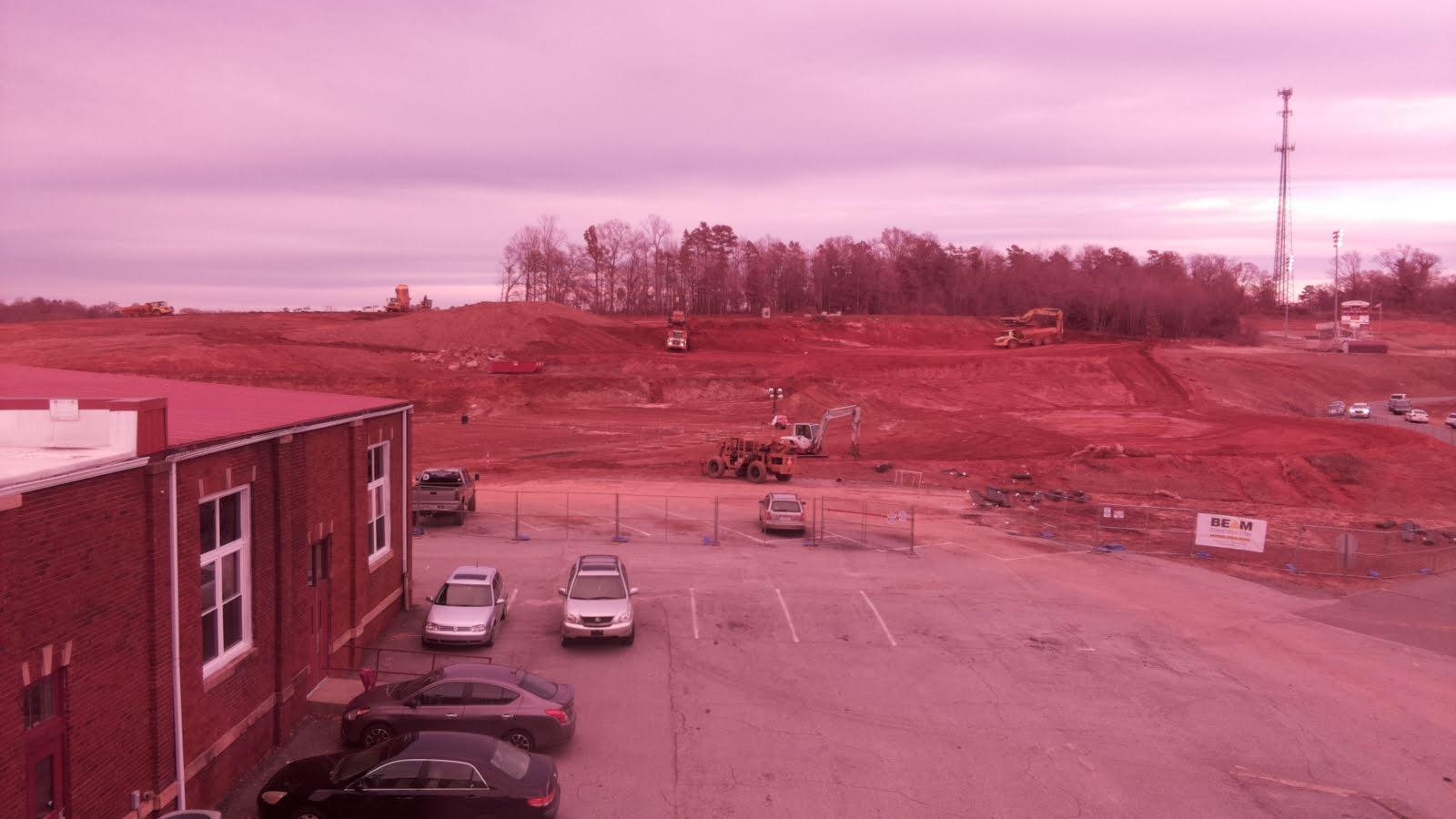 New construction site