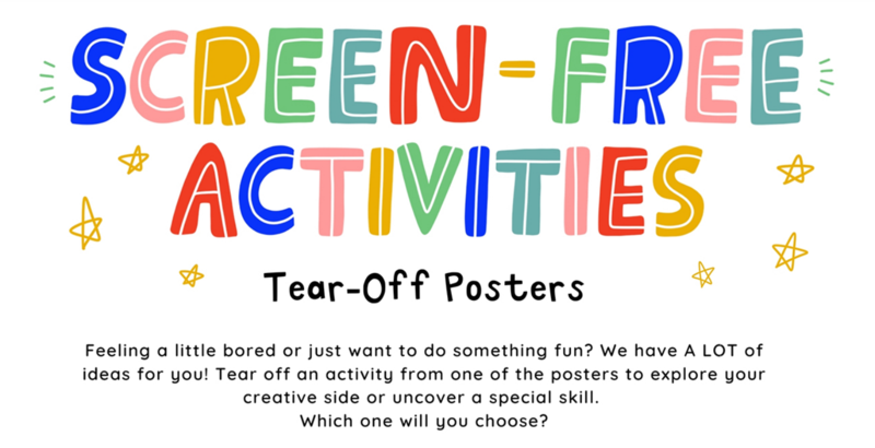 Screen-Free Activities Posters Thumbnail Image