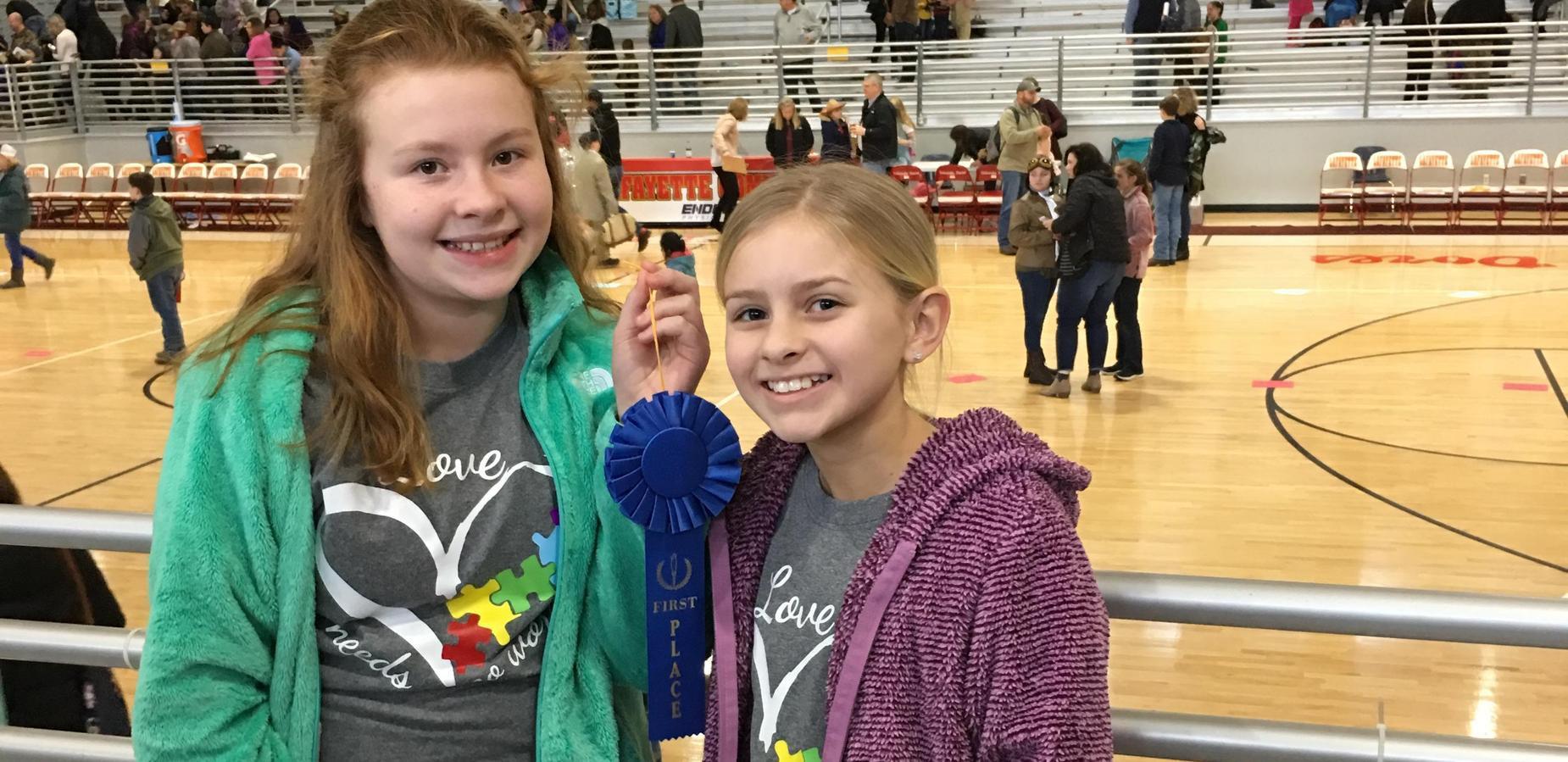 Belmont Regional Reading Fair Winners