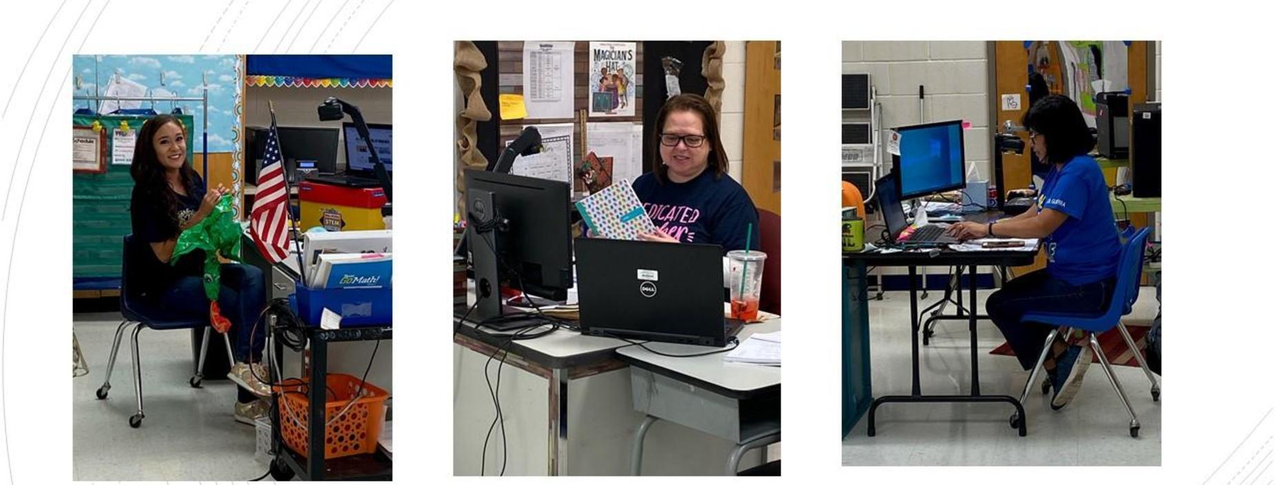 Guerra teachers busy virtual teaching