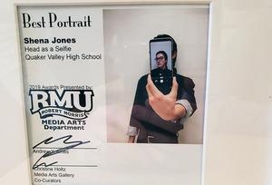 Head as a Selfie Portrait by Shena Jones