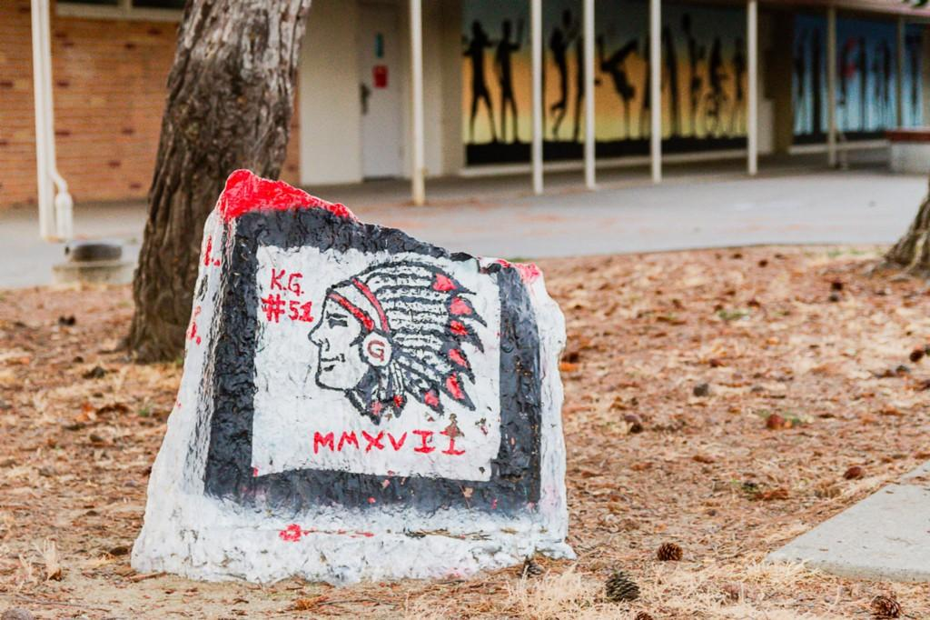 Galt High School Rock (Campus)