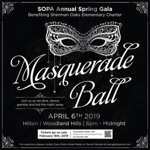 Masquerade Ball Flyer