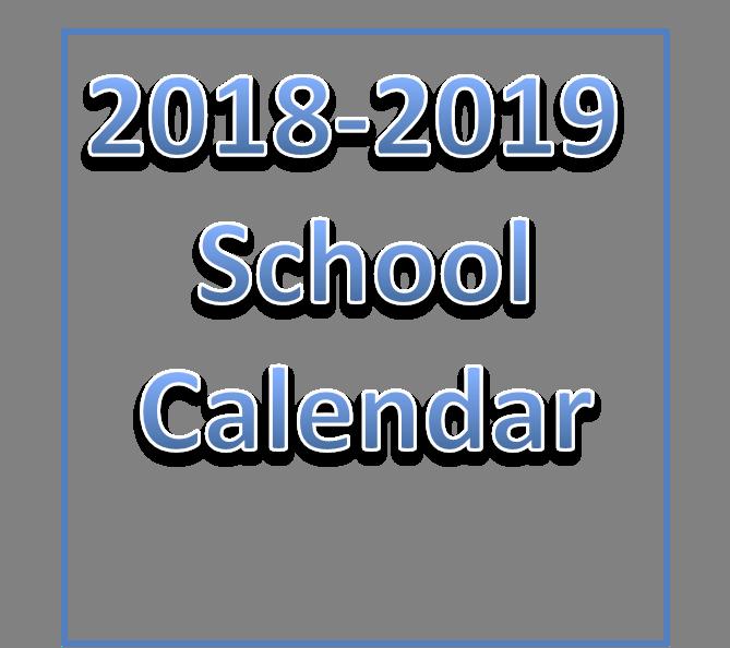 2018-2019 School Year Calendar Link Thumbnail Image