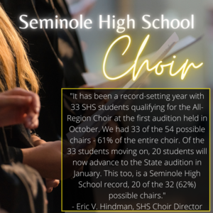seminole high school choir state audition 2020