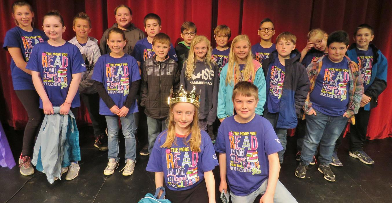 Battle of the Books champions crowned.