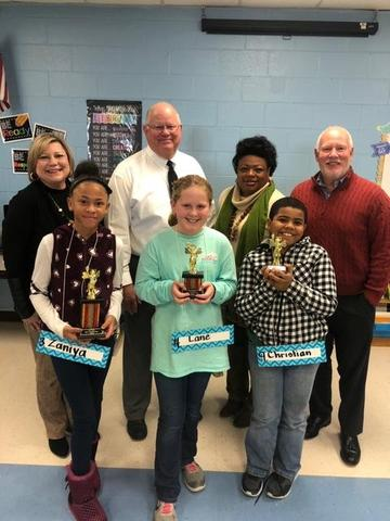 BES Spelling Bee Winners