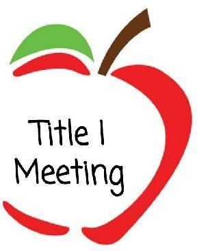 Title 1 Parent Meeting (via Zoom) Featured Photo