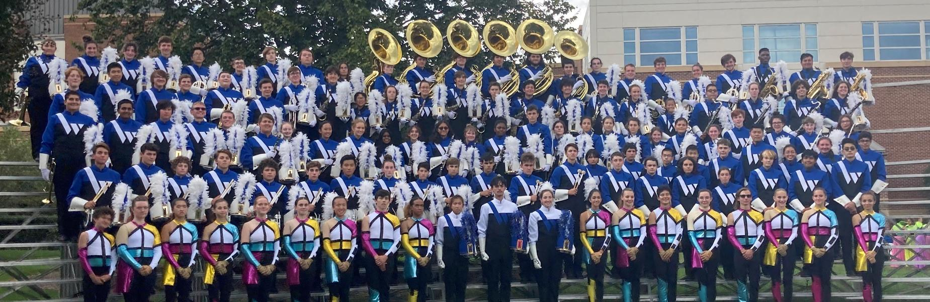 Photo of WHS Marching Band