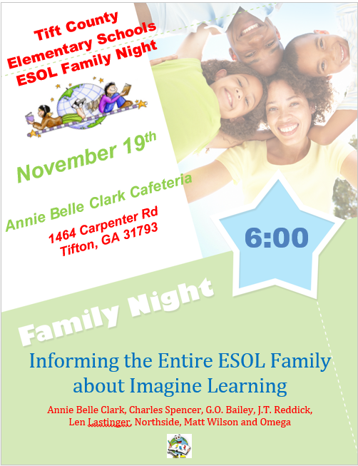 ESOL Family Night Featured Photo