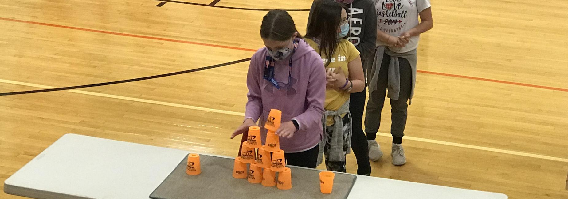 5th speed stacks table stack relay